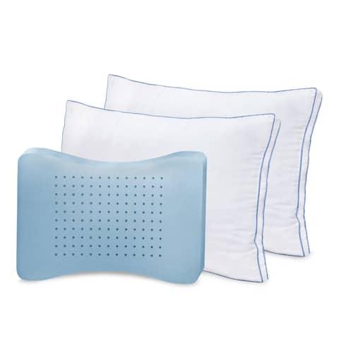SensorPEDIC MemoryLOFT Deluxe Gusseted Bed Pillow