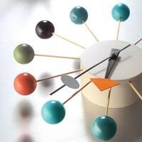 Ball Clock - Multi Color - N/A