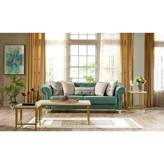 Tucson Convertible Sofa Sleeper, Eua de Nil