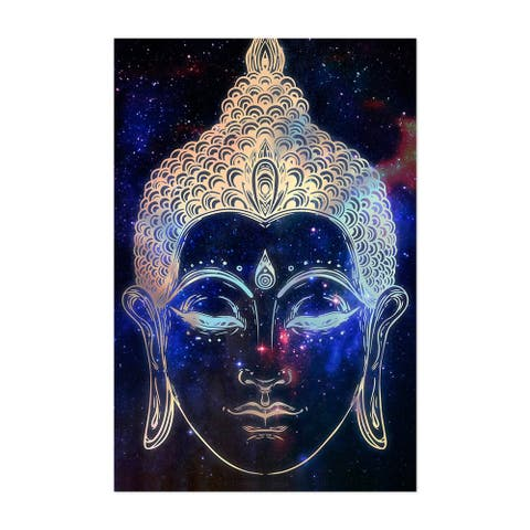 Noir Gallery Cosmic Buddha Illustration Unframed Art Print/Poster