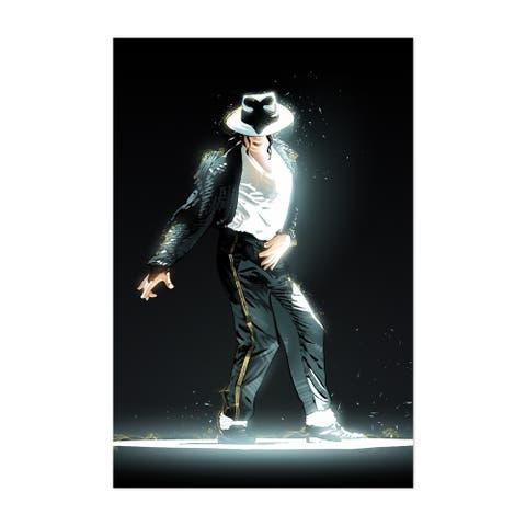 Noir Gallery Michael Jackson King of Pop Music Unframed Art Print/Poster
