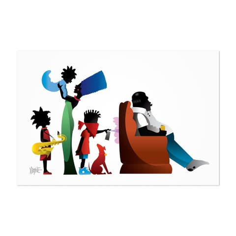 Noir Gallery African American Simpsons Culture Unframed Art Print/Poster