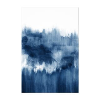 Noir Gallery Watercolor Abstract Shapes Minimal Unframed Art Print/Poster