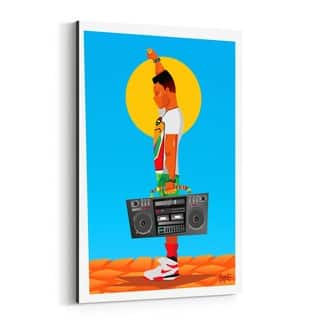 Noir Gallery Radio Raheem Do the Right Thing Canvas Wall Art Print