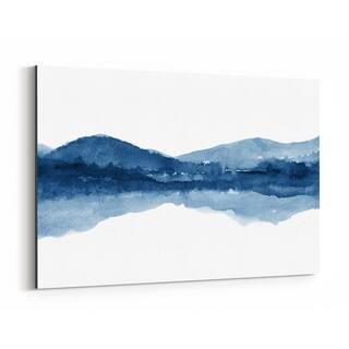 Noir Gallery Watercolor Abstract Shapes Minimal Canvas Wall Art Print
