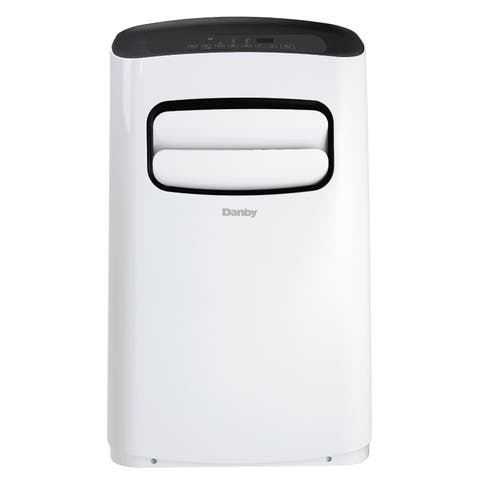 Danby 10000 BTU Portable Air Conditioner in White with Remote Control DPA100B6WDB