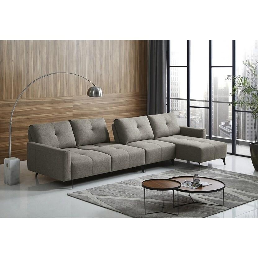 Divani Casa Kenton Modern Grey