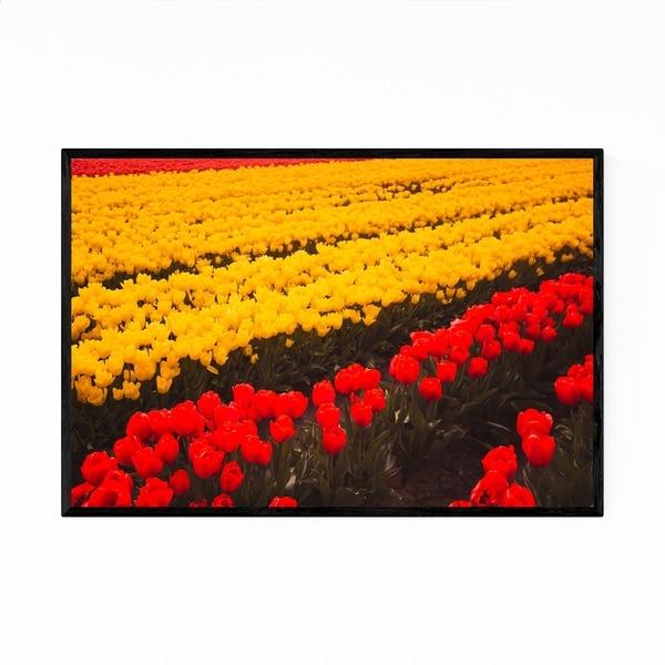 Noir Gallery Tulips Skagit Valley Washington Framed Art Print