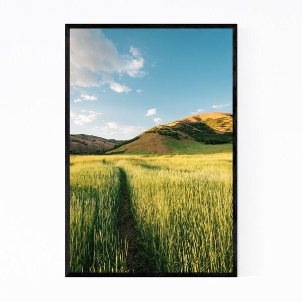 Noir Gallery Salt Lake City Utah Landscape Framed Art Print
