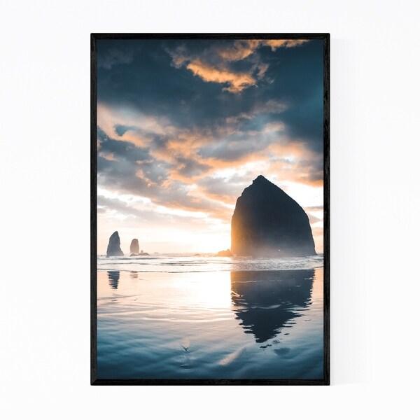Noir Gallery Cannon Beach Coastal Oregon Framed Art Print