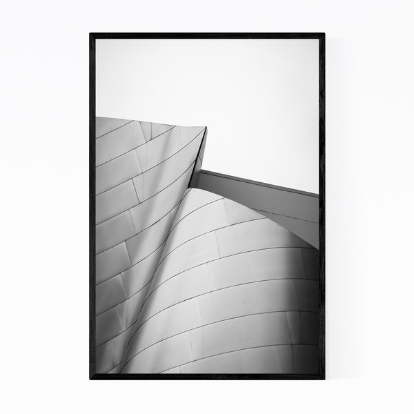 Noir Gallery Modern Architecture Abstract Photo Framed Art Print