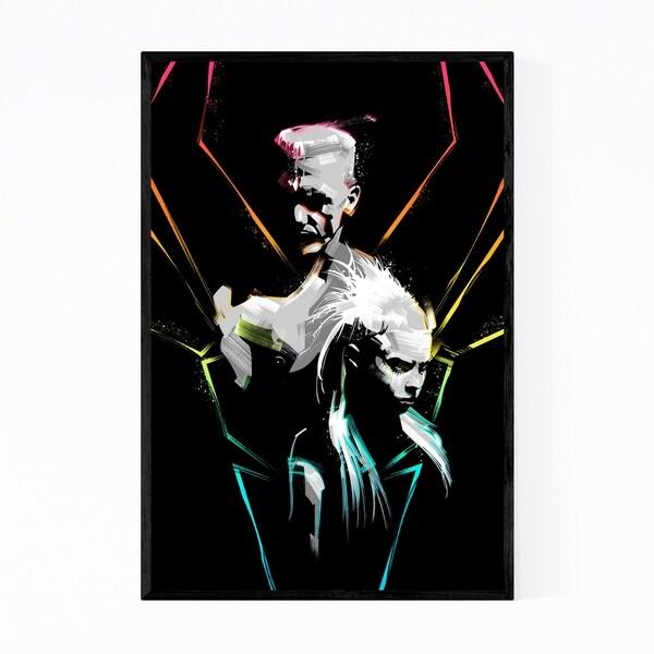 Noir Gallery Ninja Yolandi Die Antwoord Framed Art Print