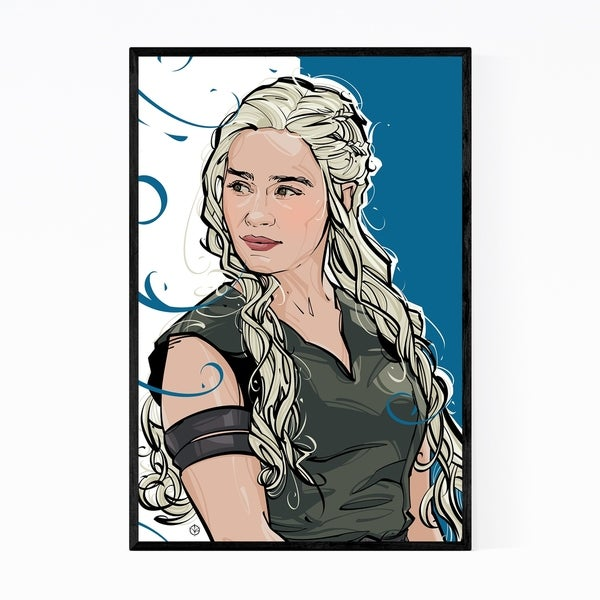 Noir Gallery Game of Thrones Framed Art Print