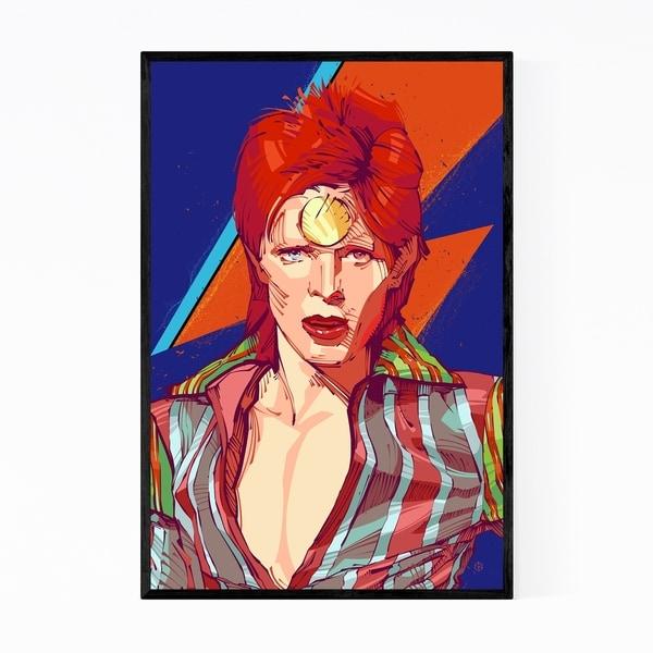 Noir Gallery David Bowie Ziggy Stardust Framed Art Print
