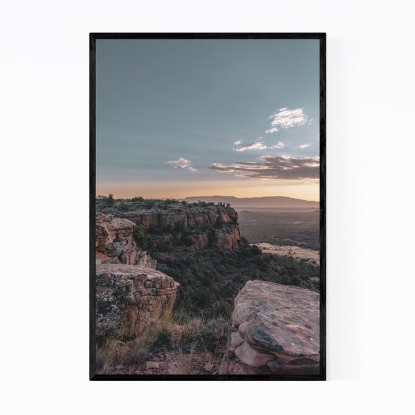 Noir Gallery Sedona Arizona Mountain Landscape Framed Art Print