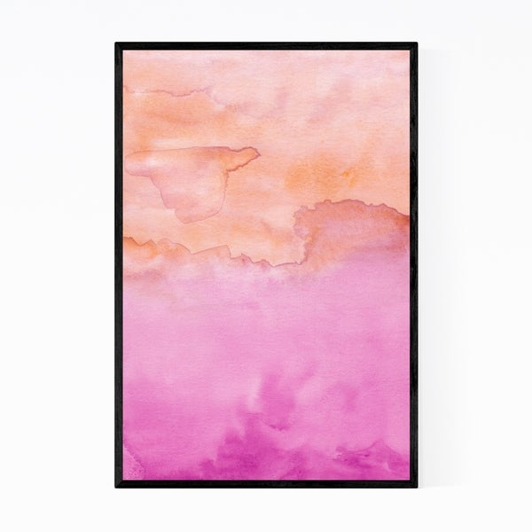 Noir Gallery Abstract Watercolor Painting Framed Art Print