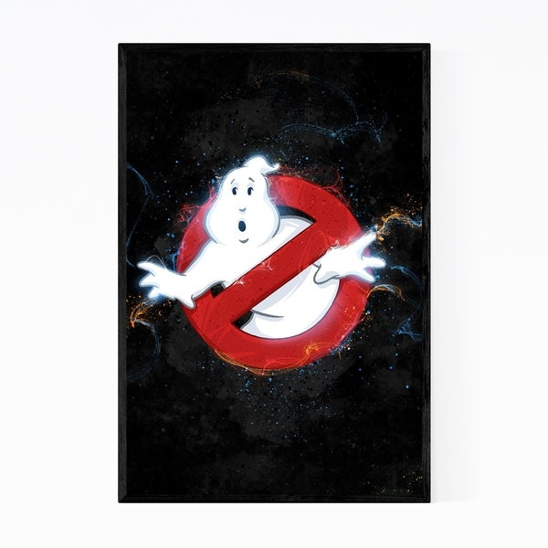 Noir Gallery Ghostbusters Framed Art Print