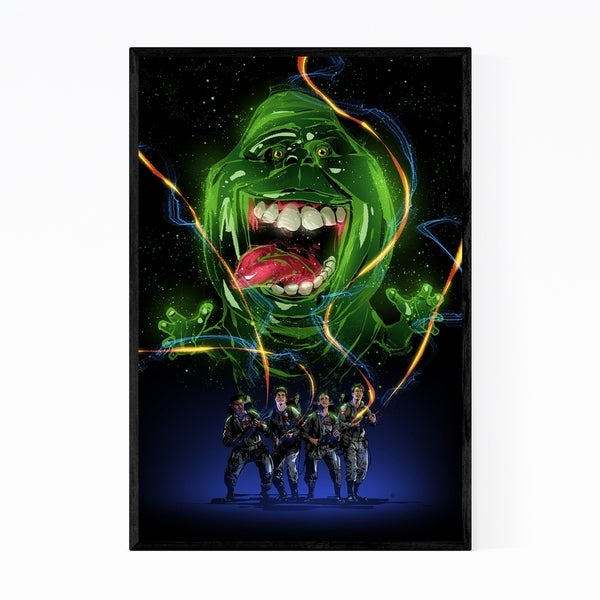 Noir Gallery Ghostbusters Framed Art Print