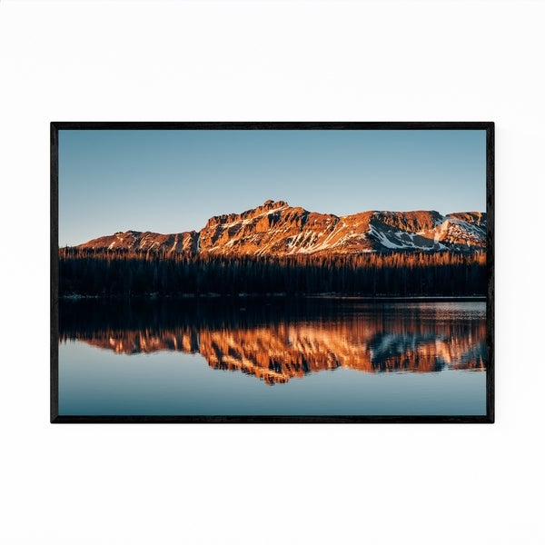 Noir Gallery Mirror Lake Uinta Mountains Utah Framed Art Print
