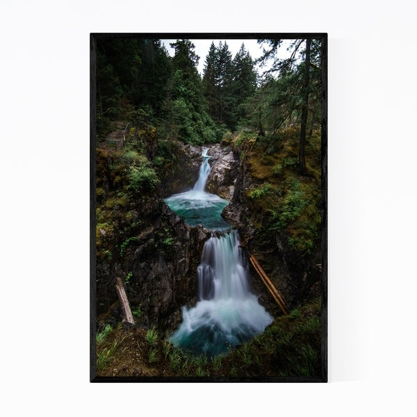 Noir Gallery Little Qualicum Falls Vancouver Framed Art Print