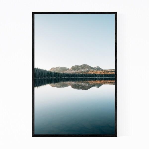 Noir Gallery Mirror Lake Uinta Mountains Utah Framed Art Print