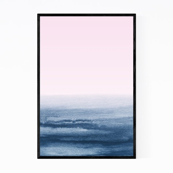 Noir Gallery Abstract Minimal Landscape Framed Art Print
