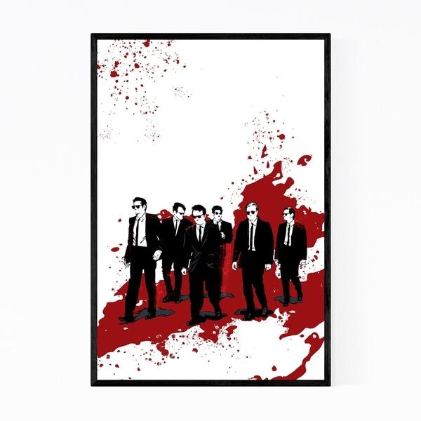 Noir Gallery Reservoir Dogs Movie Framed Art Print