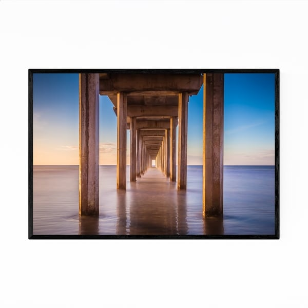 Noir Gallery Scripps Pier La Jolla California Framed Art Print