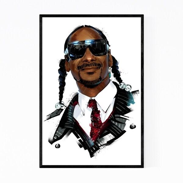 Noir Gallery Snoop Dogg Music Framed Art Print