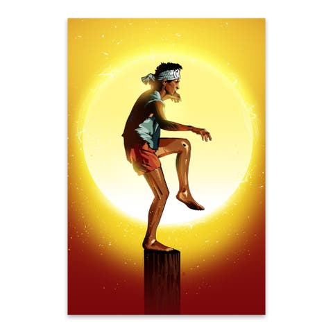 Noir Gallery Karate Kid Movie Metal Wall Art Print
