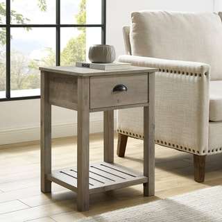 "The Gray Barn 18"" One-Drawer Side Table"