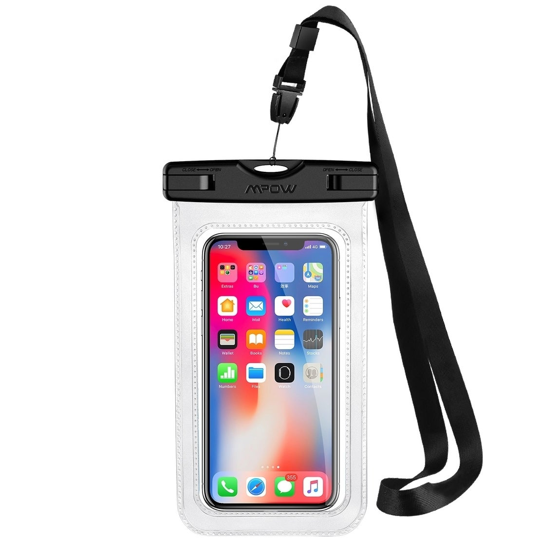 Mpow Waterproof Case Ipx 8 Cellphone Dry Bag Pouch For Iphone 6 6s 7 Plus Google Pixel