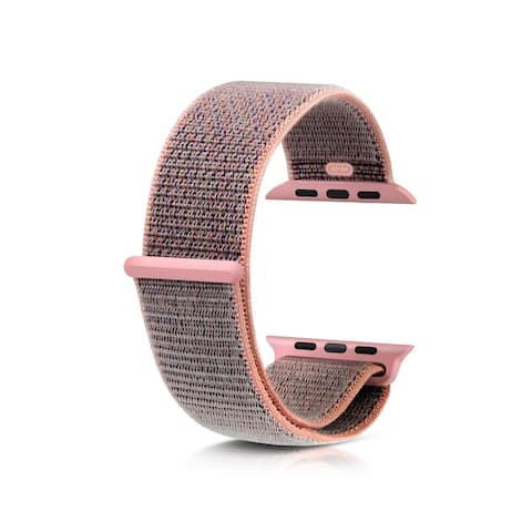 Apple Watch Series 4 44mm Nylon Sports Band Fabric Loop OEM Watch Band Strap Replacement (3 Colors)