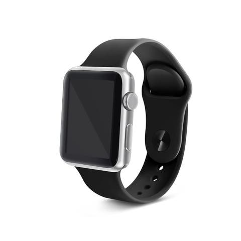 Apple Watch Series 4 44mm Silicone Sports Band OEM Watch Band Strap Replacement (3 Colors)