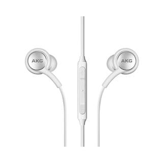 Samsung Galaxy S10/ S10 Plus White In-Ear Stereo Headset Earphones OEM EO-IG955 (Bulk Packaging)