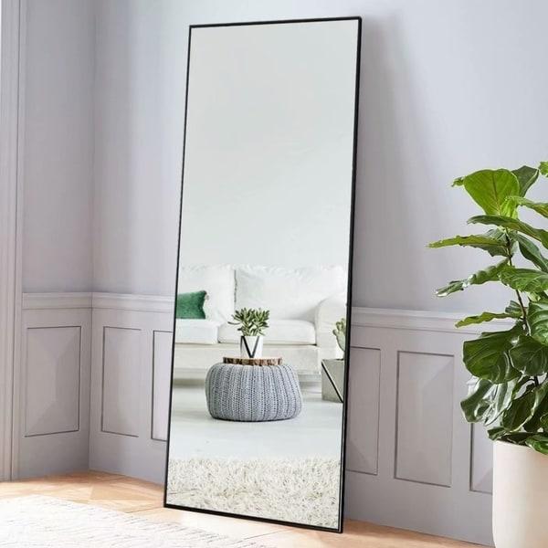 Modern Full Length/Floor Mirror Freestanding In Living/Sitting Room - 64.17x21.26