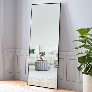 Modern Full Length/Floor Mirror Freestanding In Living/Sitting Room - N/A