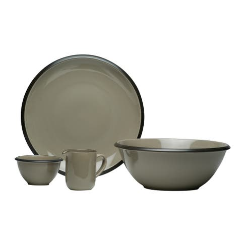 Christopher Knight Collection Mystic Grey 4 Pc Serving Set