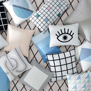 Now House by Jonathan Adler Cotton Decorative Pillows
