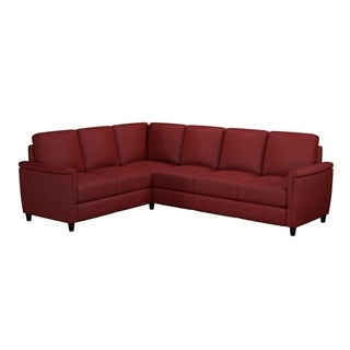 Made to Order Esther 100% Top Grain Leather Sectional - Right Arm Facing