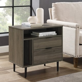 "Carson Carrington 25"" Modern Storage Side Table - 25 x 16 x 26H"