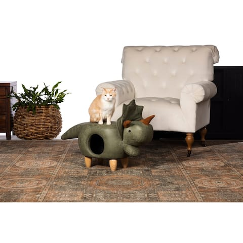Prevue Pet Products Triceratops Dinosaur Ottoman 7392