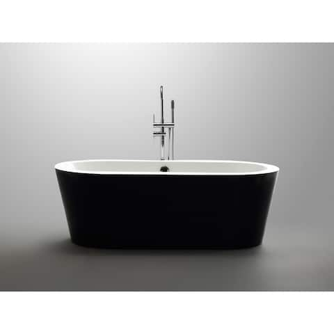"Tampa 68"" Freestanding Tub No Faucet - 68"