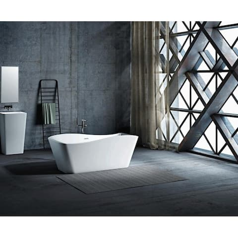 "Omaha 67"" Freestanding Tub No Faucet - 67"