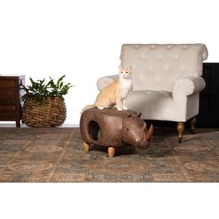 Prevue Pet Products Brown Rhinoceros Ottoman 7391