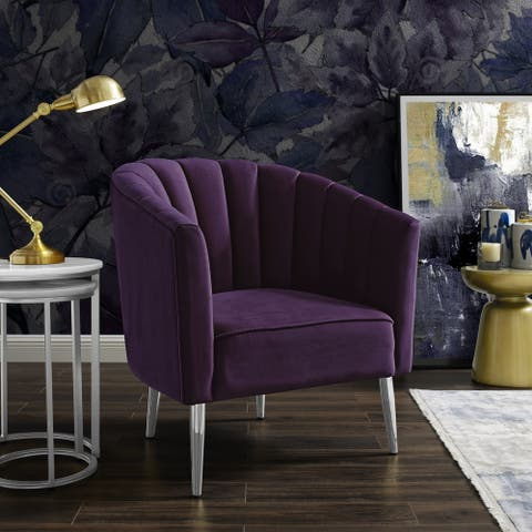Adrien Barrel Upholstered Accent Chair