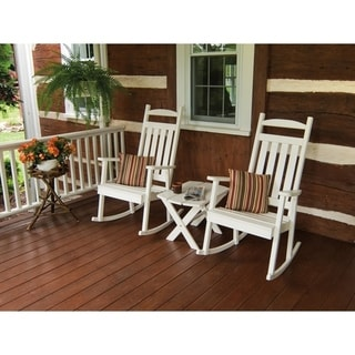 Classic Pine Painted Porch Rocker