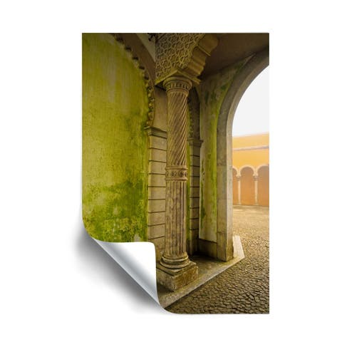 Kathy Yates Moorish Wall in Portugal Removable Wall Art Mural