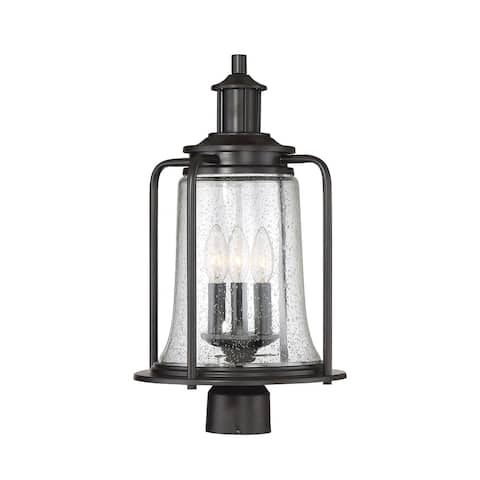 Tacoma 3 Light Outdoor Post Lantern