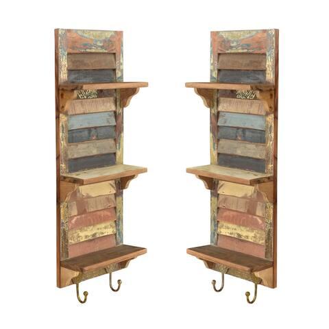 Denton Collection Organizer and Magazine Holder - 2 Piece Set